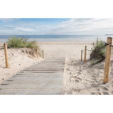 Beach Path Canvas
