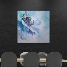 Shades of Blue Canvas Wall Art