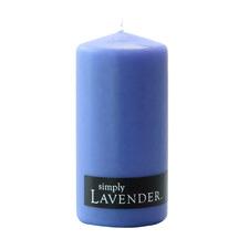 13cm Lavender Pillar Candle