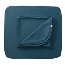 Babyushka Blue Organic Cotton Cot Sheet Set