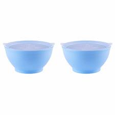 Elipse Kids 11cm Spill Proof Bowls with Lid (Set of 2)