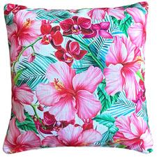 Jubilant Platinum Outdoor Cushion Cover