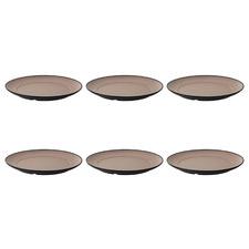 26cm Melamine Side Plates (Set of 6)
