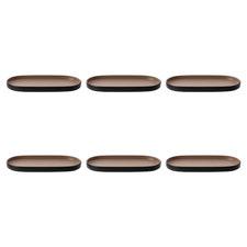 23.5cm Oval Melamine Serving Platters (Set of 6)