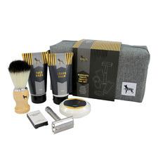 Gents Manscape Travel Shaving Bag Set