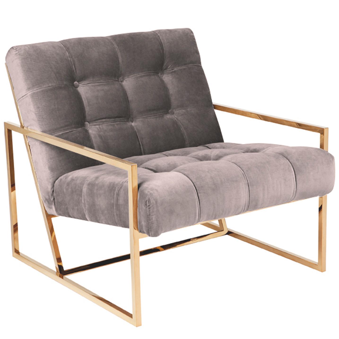NEW Modern L A Velvet Armchair Lexington Home Armchairs