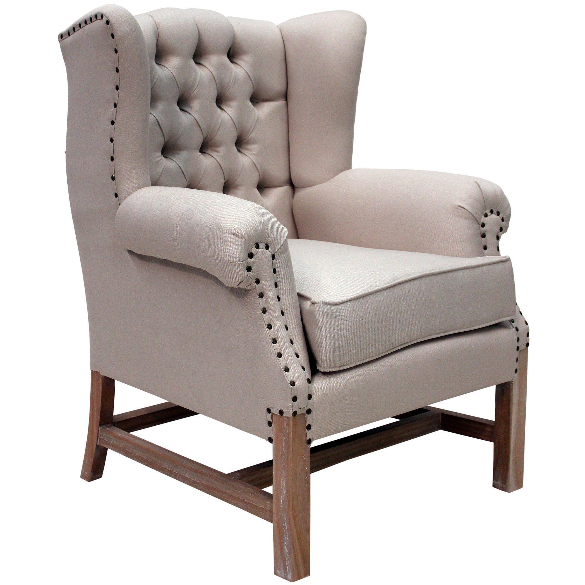 French Provincial Wing Chair