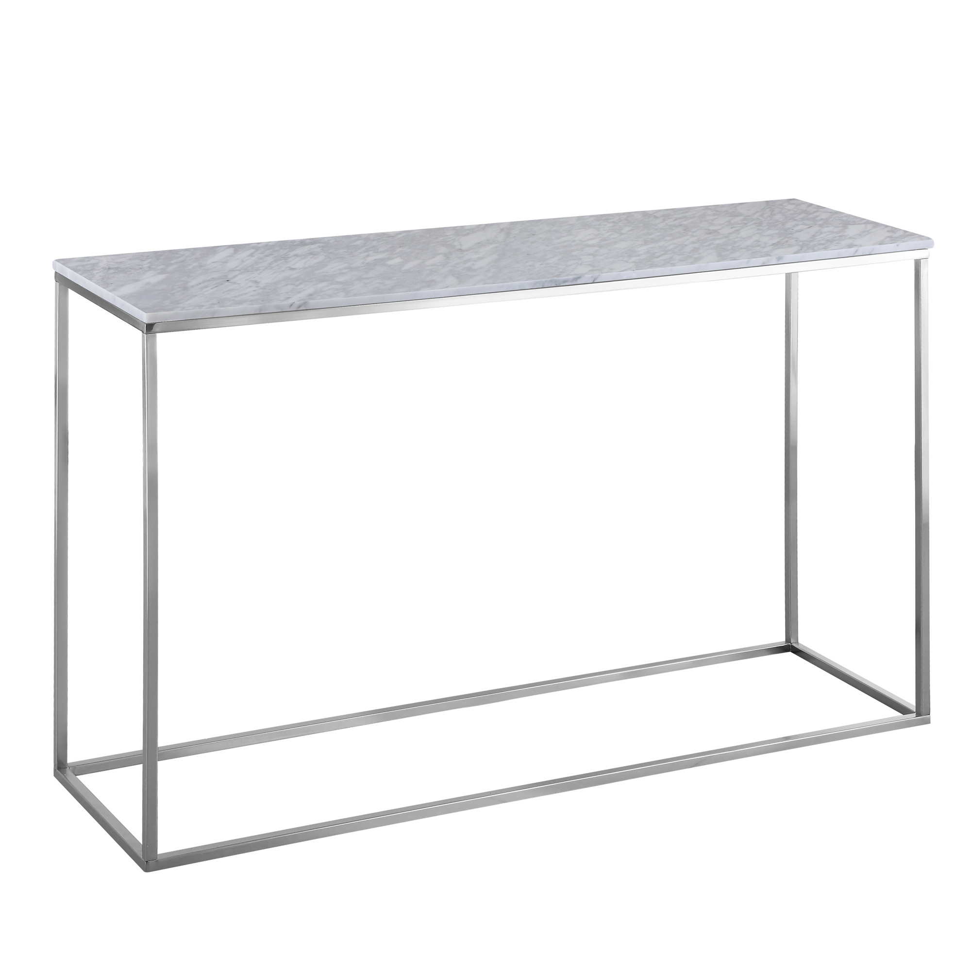 Hall tables console tables temple webster annecy white marble console table geotapseo Choice Image
