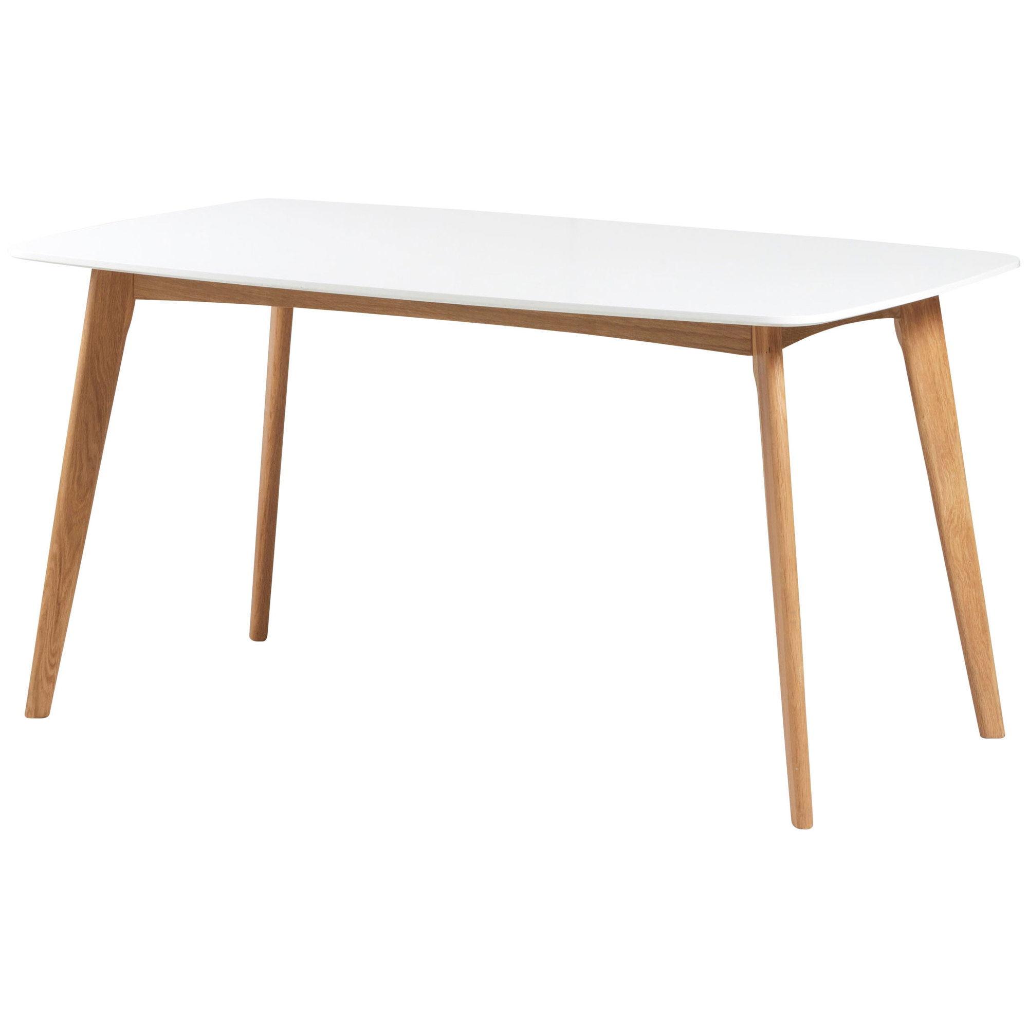 White Oslo Dining Table