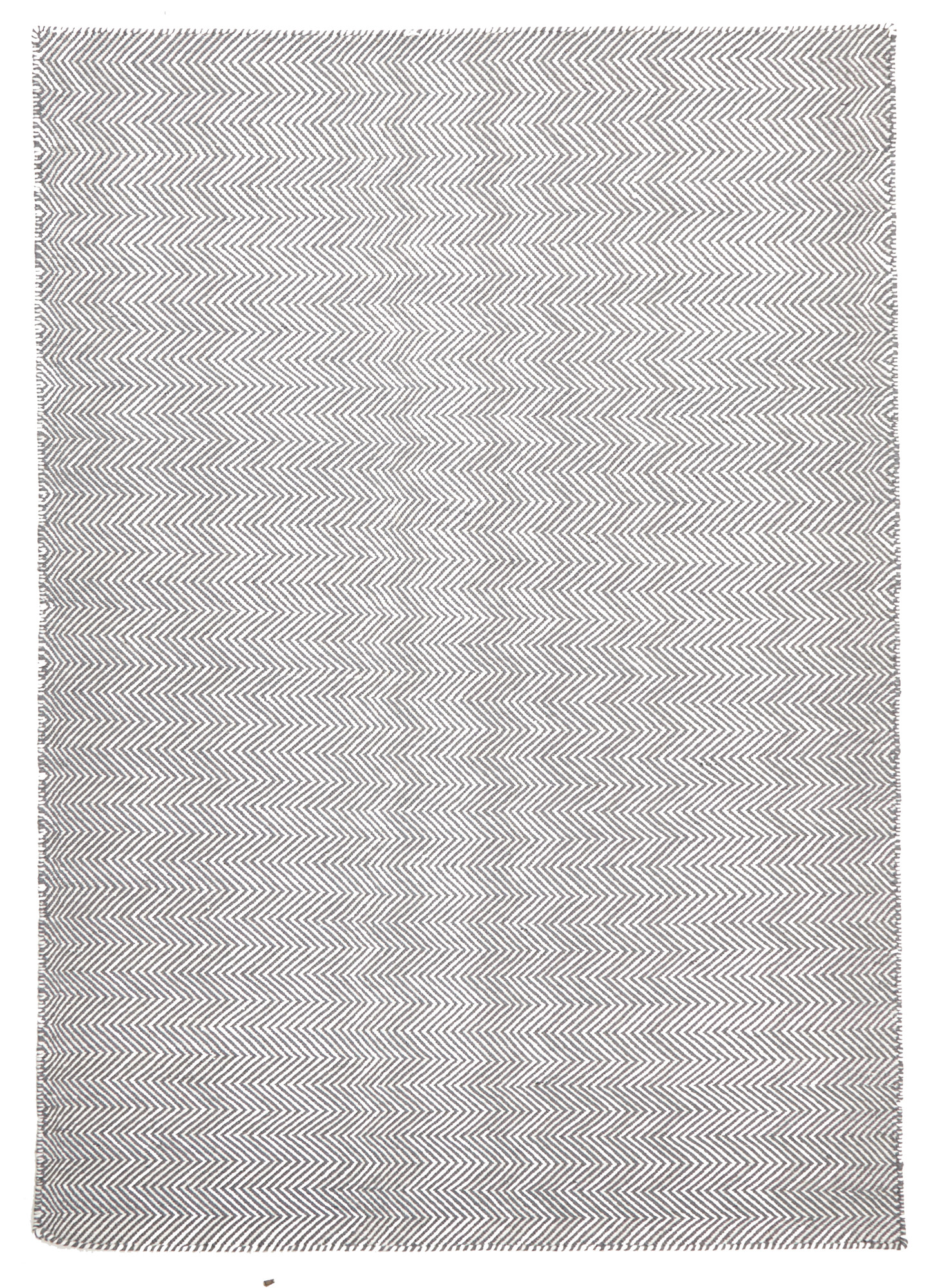 NEW-Herring-Bone-Chevron-Rug-Grey