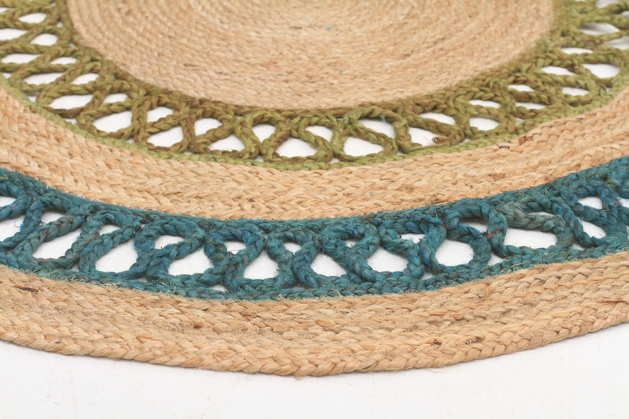 NEW-Hawaii-Jasmine-Hand-Braided-Turquoise-Rug