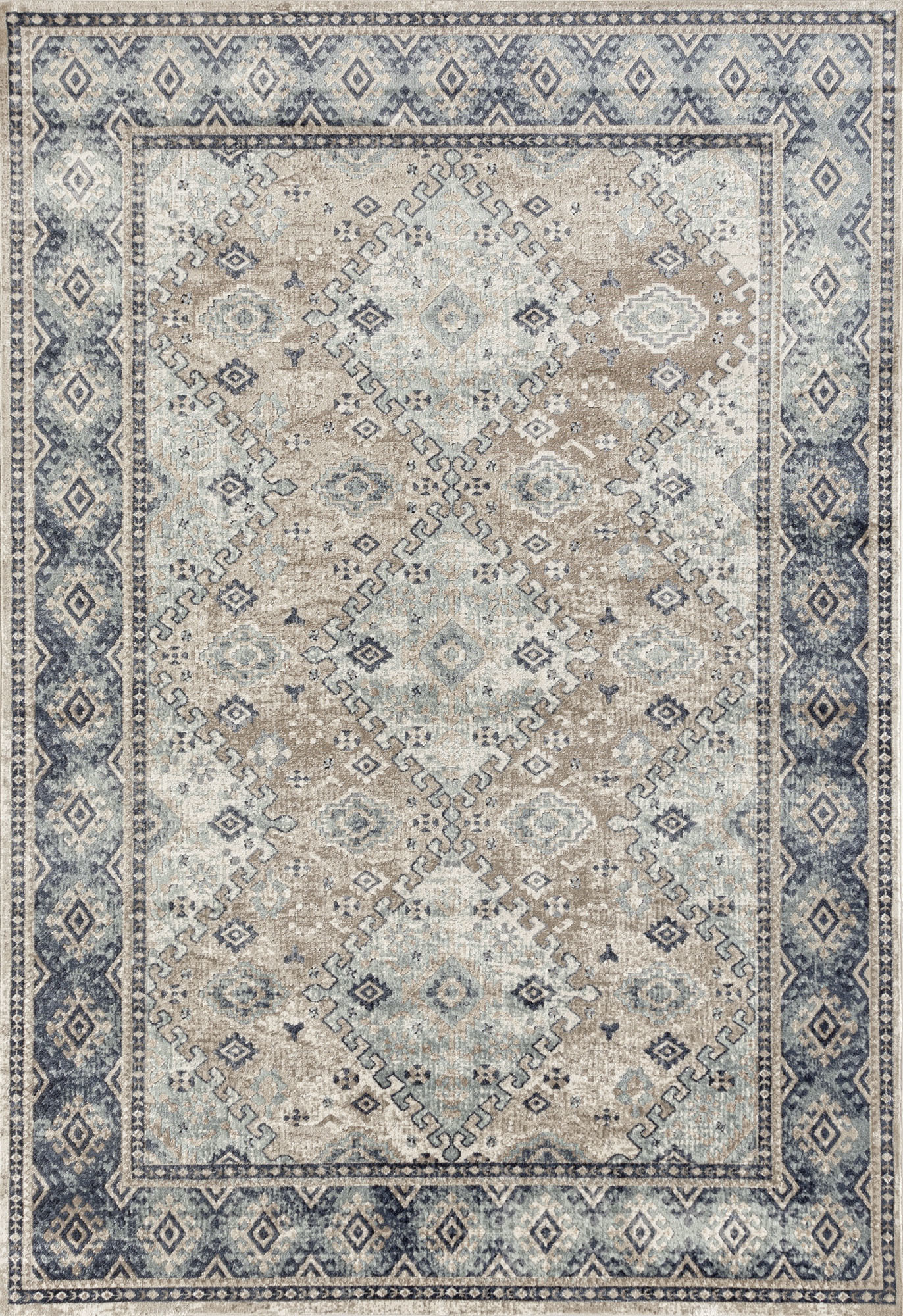 bba6f41f96 SKU #NETW7064 Vannessa Navy, Cream & Beige Chenille Cotton Modern Rug is  also sometimes listed under the following manufacturer numbers:  PVD-831-BEI-230X160 ...