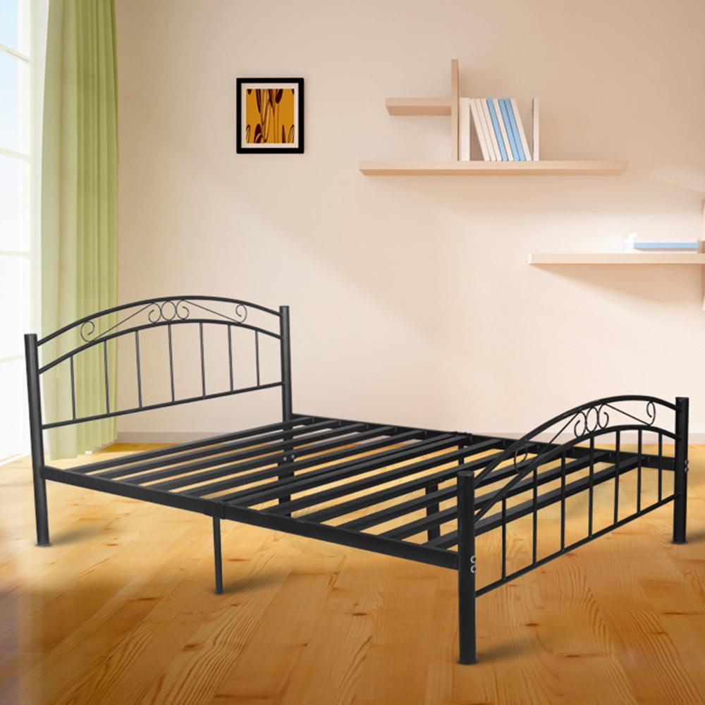 NEW Brooklyn Metal Bed Mikasa Furniture Beds