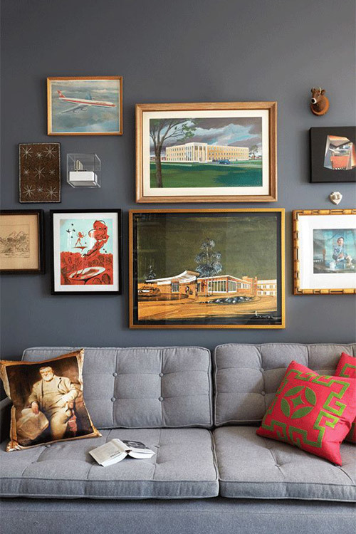 7 ways to decorate the space above your sofa - Temple & Webster Journal
