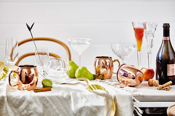 Photograph - Denise Braki. Styling & drinks - Jono Fleming.