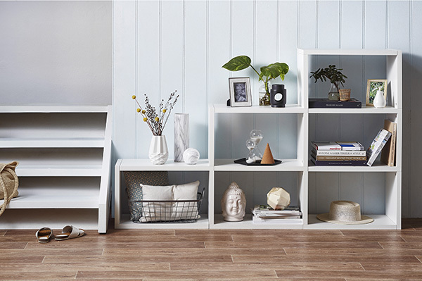 Milan Direct has storage furniture to suit all your needs. Styling Sarah Cousens. Photo Denise Braki.