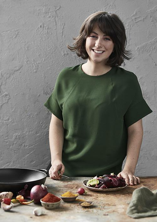 UK food stylist Jess Dennison. Photo – Denise Braki.