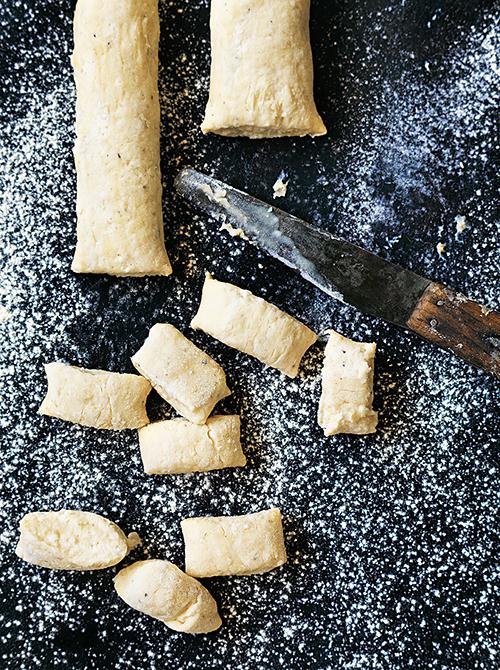 Donna Hay's cheat's ricotta gnocchi dough. Photography – William Meppem.