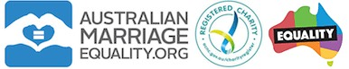 Australian Marriage equality logos