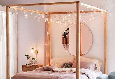 How to decorate with fairy lights after the festive season