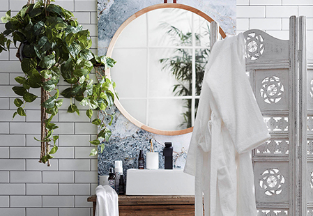 7 ways to give your bathroom spa appeal