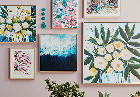 How to decorate with wall art