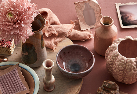How to decorate with rosewood