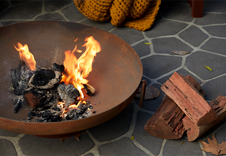 How to create a toasty outdoor space for winter