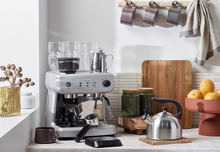 How to set up a coffee station at home