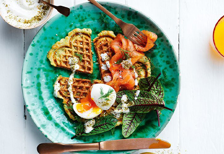 Amazing all-day waffle recipes