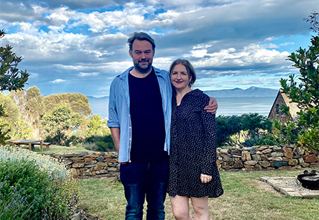 How Aussies live: Couples who live & work together