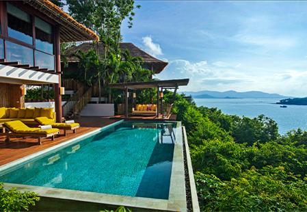 Luxury boutique hotel looks