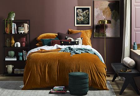 Your guide to velvet bedding