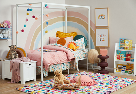 How to decorate a kids bedrooms that will grow with them