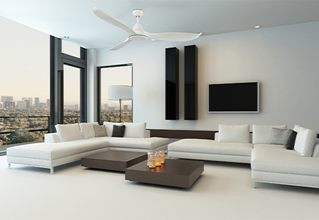 How to choose a ceiling fan size