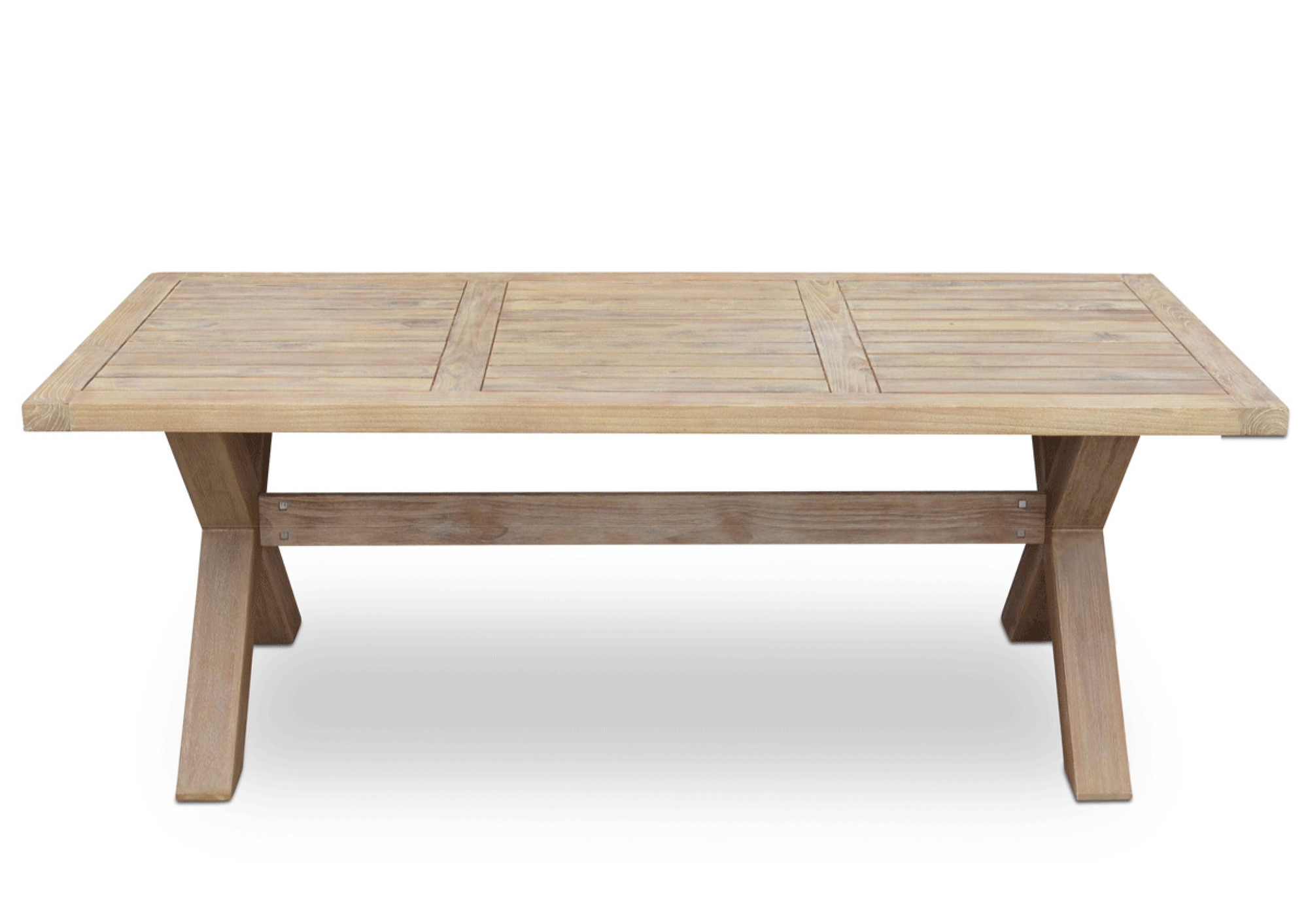 Picture of: Layla Outdoor Teak Dining Table Temple Webster