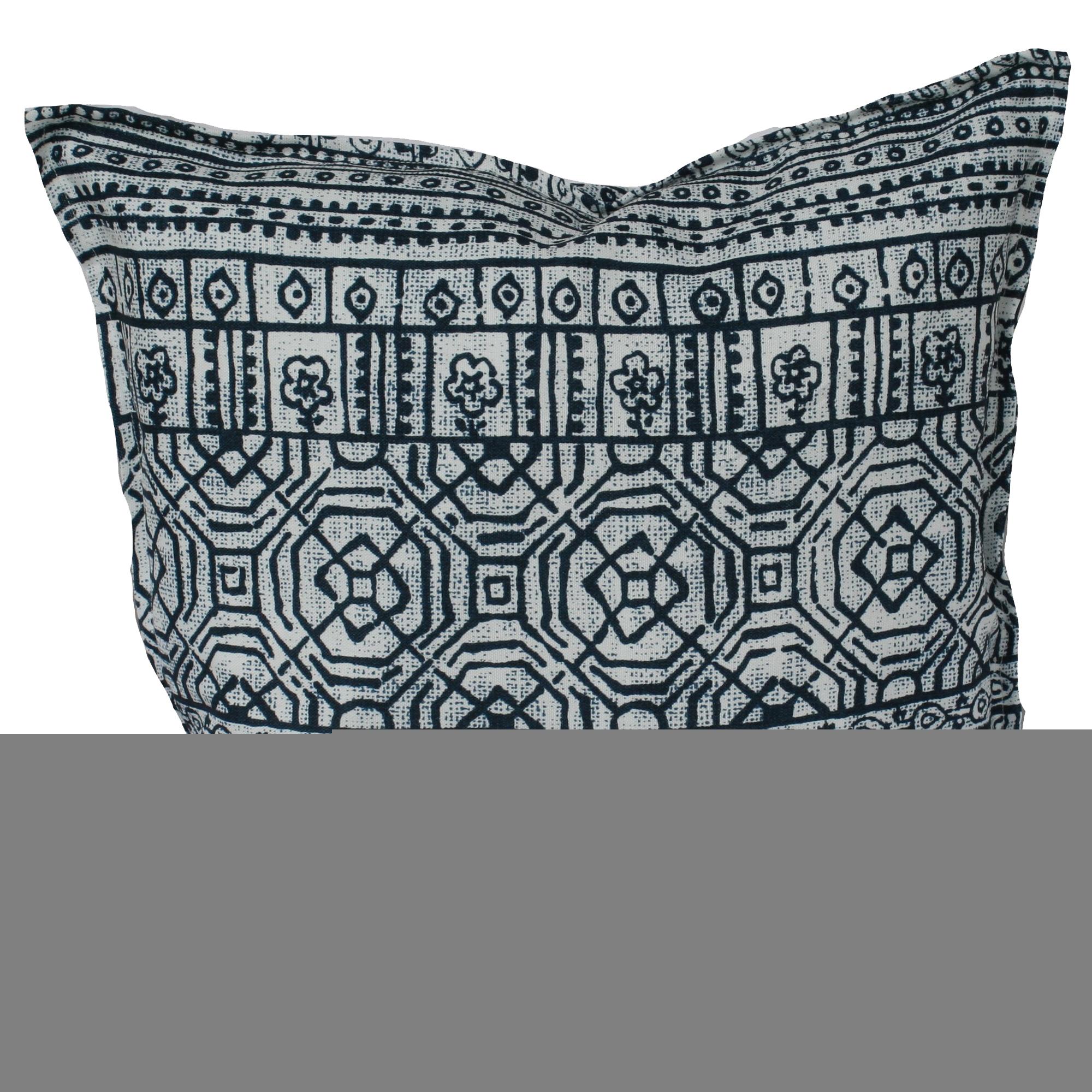 Bungalow Living Indigo Batik Outdoor Cushion Reviews Temple Webster