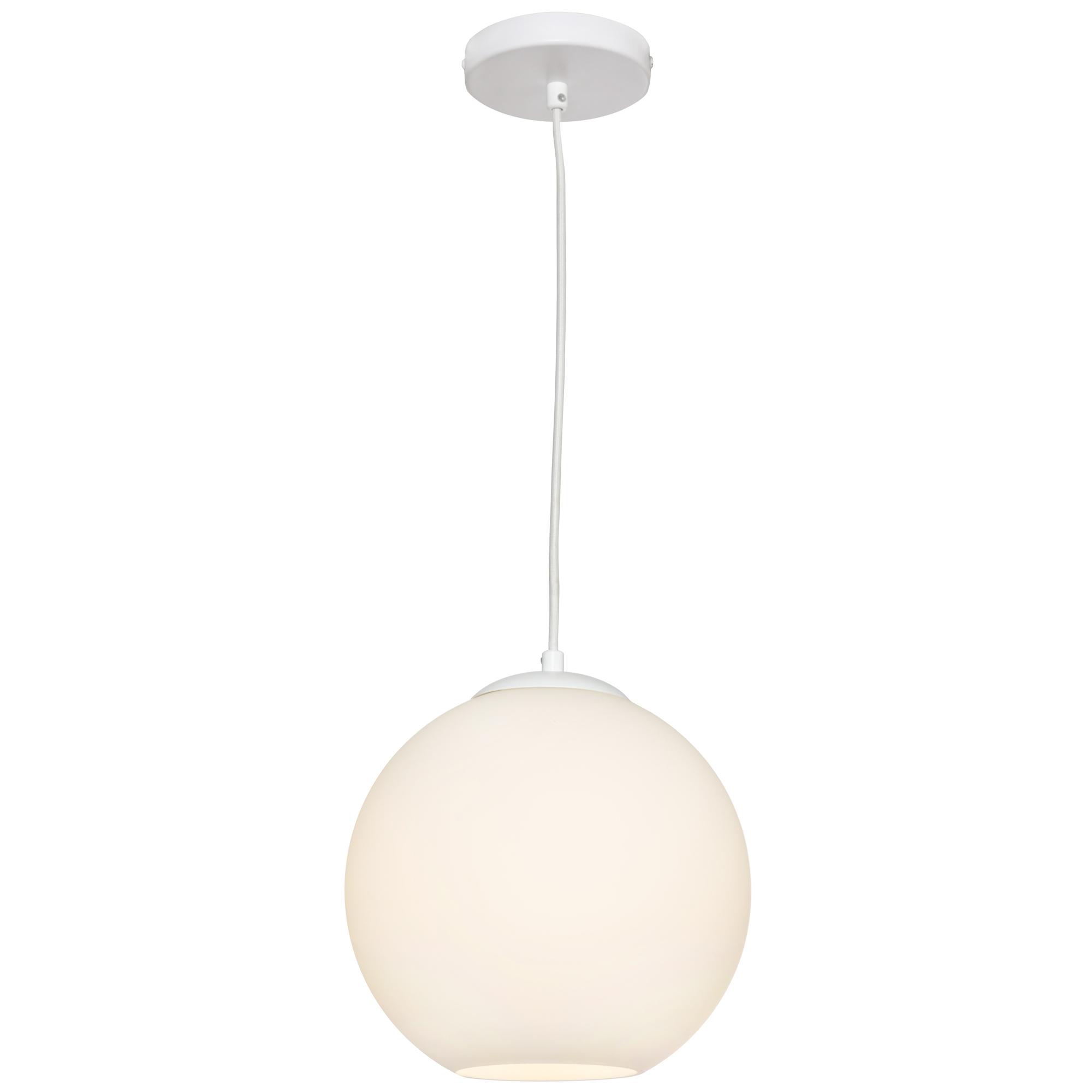 White orpheus pendant light