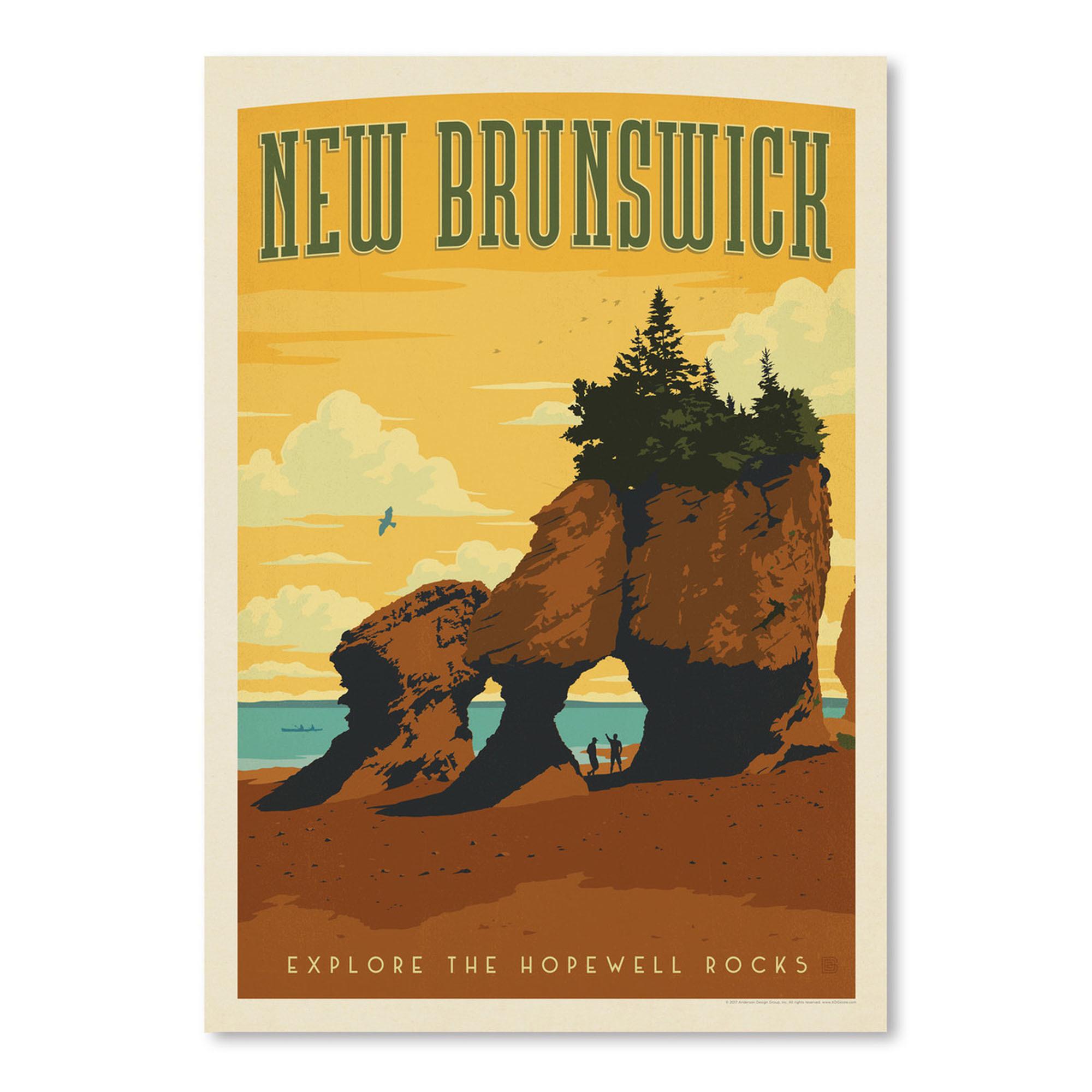 New Brunswick Printed Wall Art | Temple & Webster