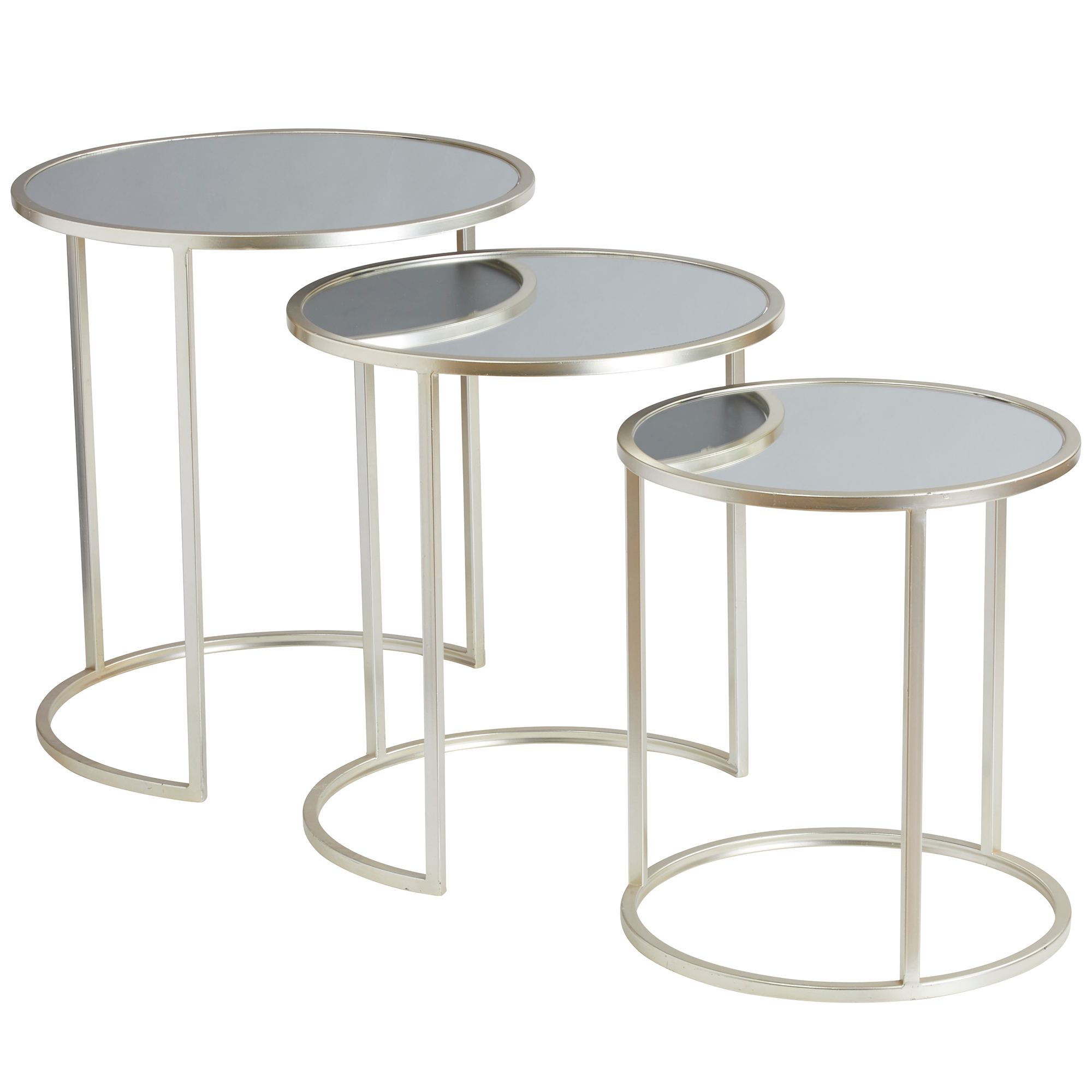 Exceptional SKU #AMAL4639 3 Piece Fitzgerald Nesting Side Table Set Is Also Sometimes  Listed Under The Following Manufacturer Numbers: FMTB 795