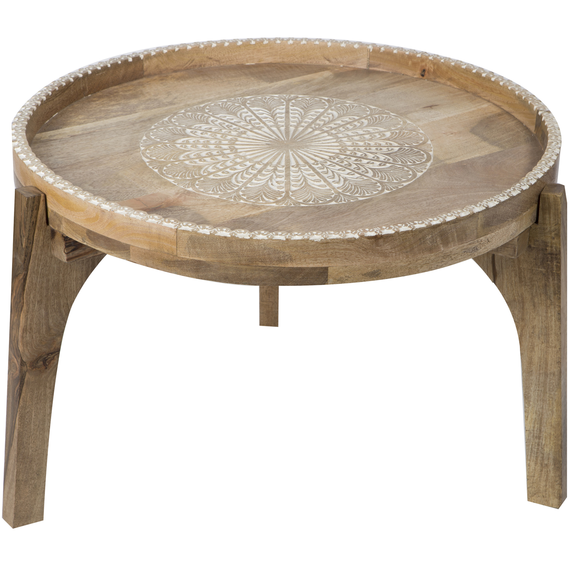 Outstanding Natural Aitana Mango Wood Coffee Table Machost Co Dining Chair Design Ideas Machostcouk
