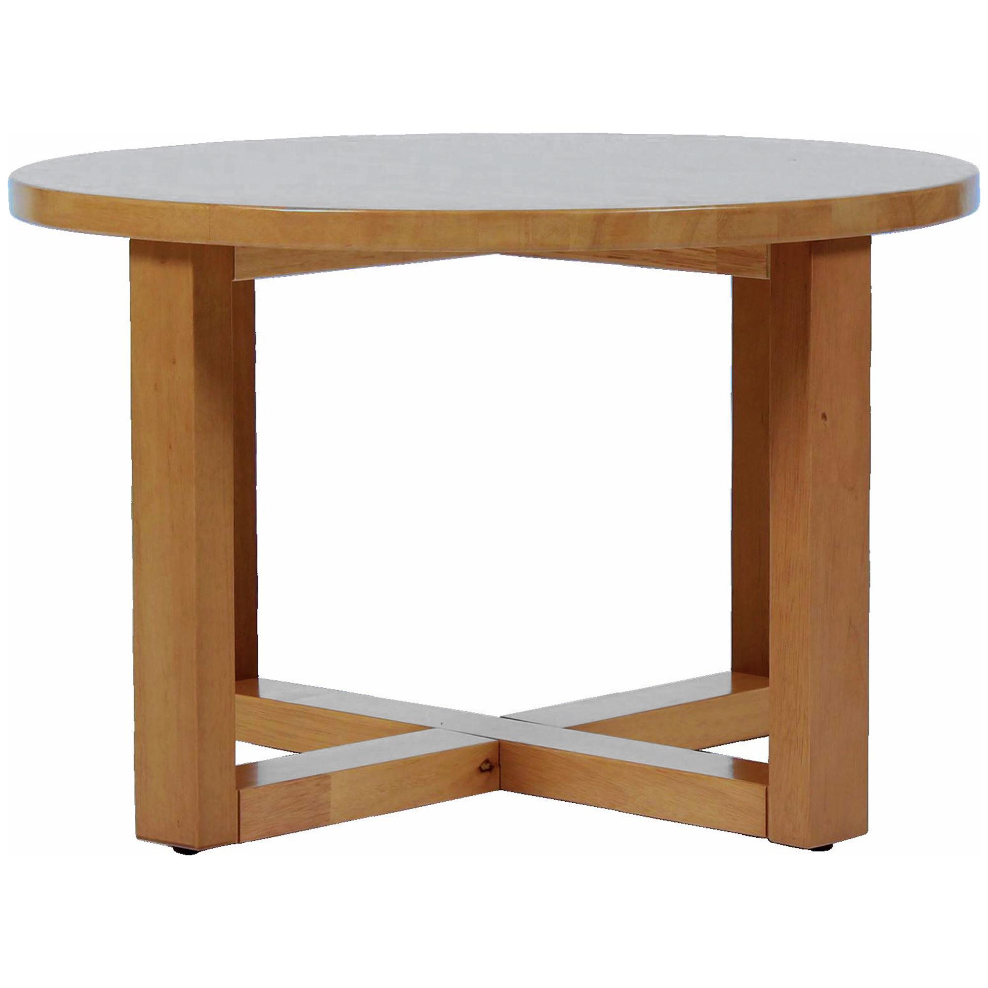 Rubberwood Coffee Table.Natural Chunk Rubberwood Coffee Table
