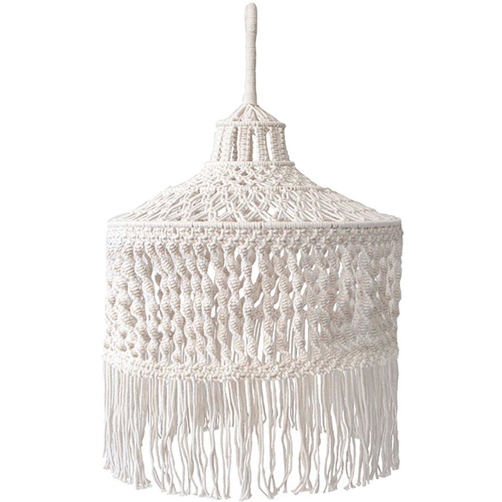 online retailer 3292b 7d106 Ivory Gili Macramé Pendant Light Shade