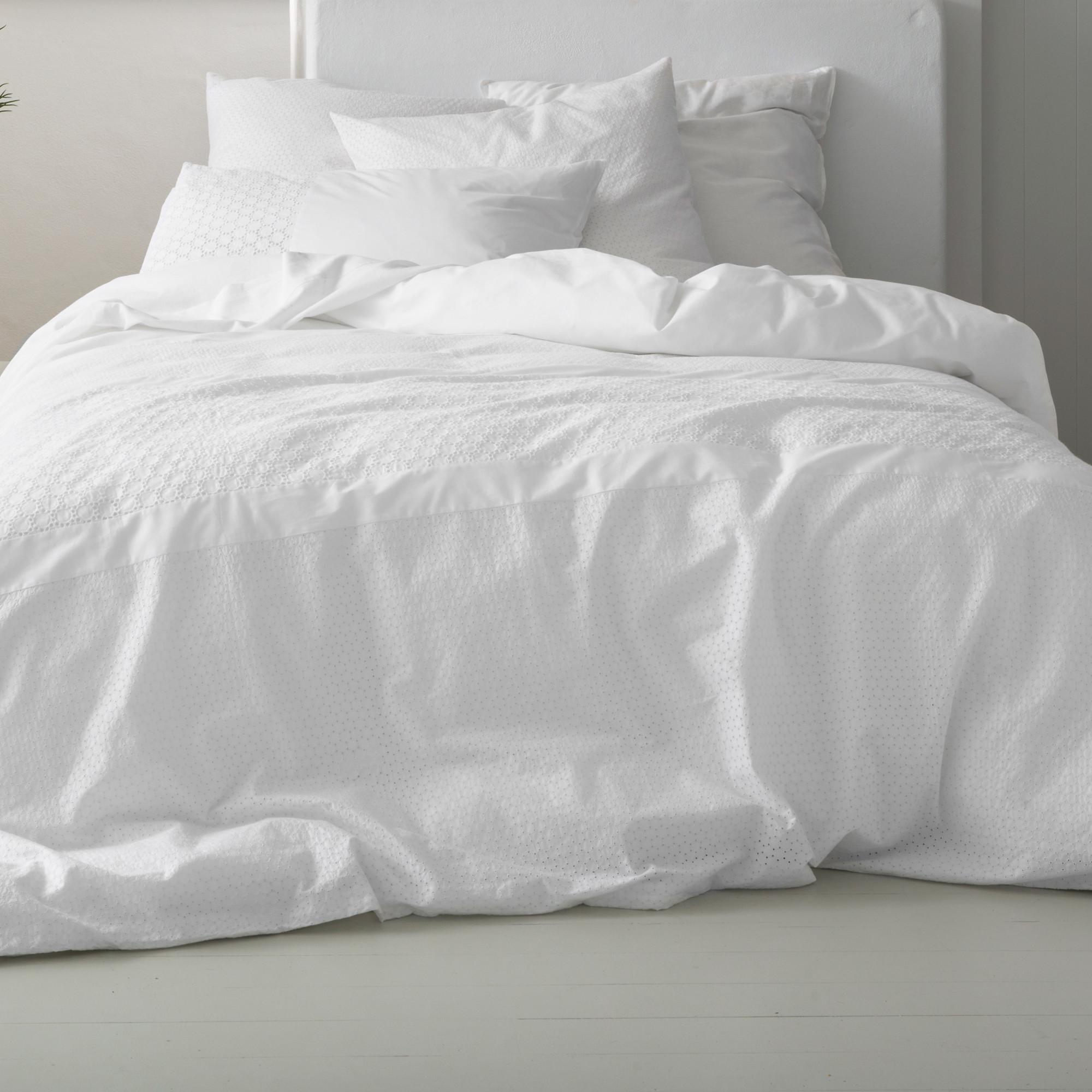 cover duvet white amarento