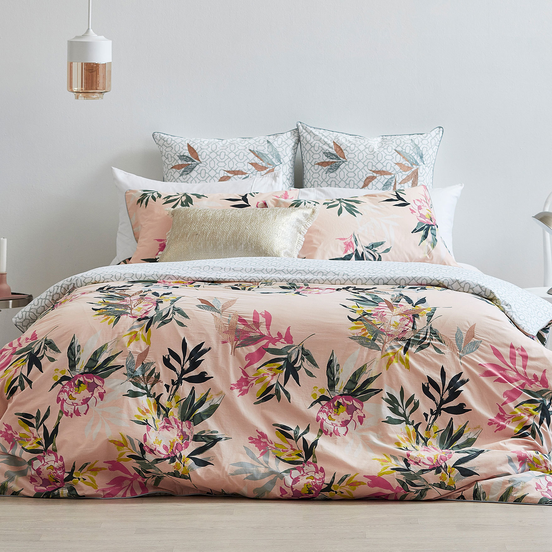 print piece country collections bed bedding cotton store floral set with flowers cover rustic winlife on online american product sets duvet style
