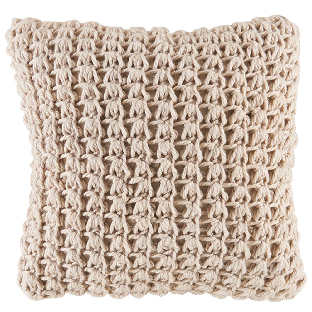 NEW-Chunky-Knit-Kelly-Square-Cushion-Kas-Cushions thumbnail 6