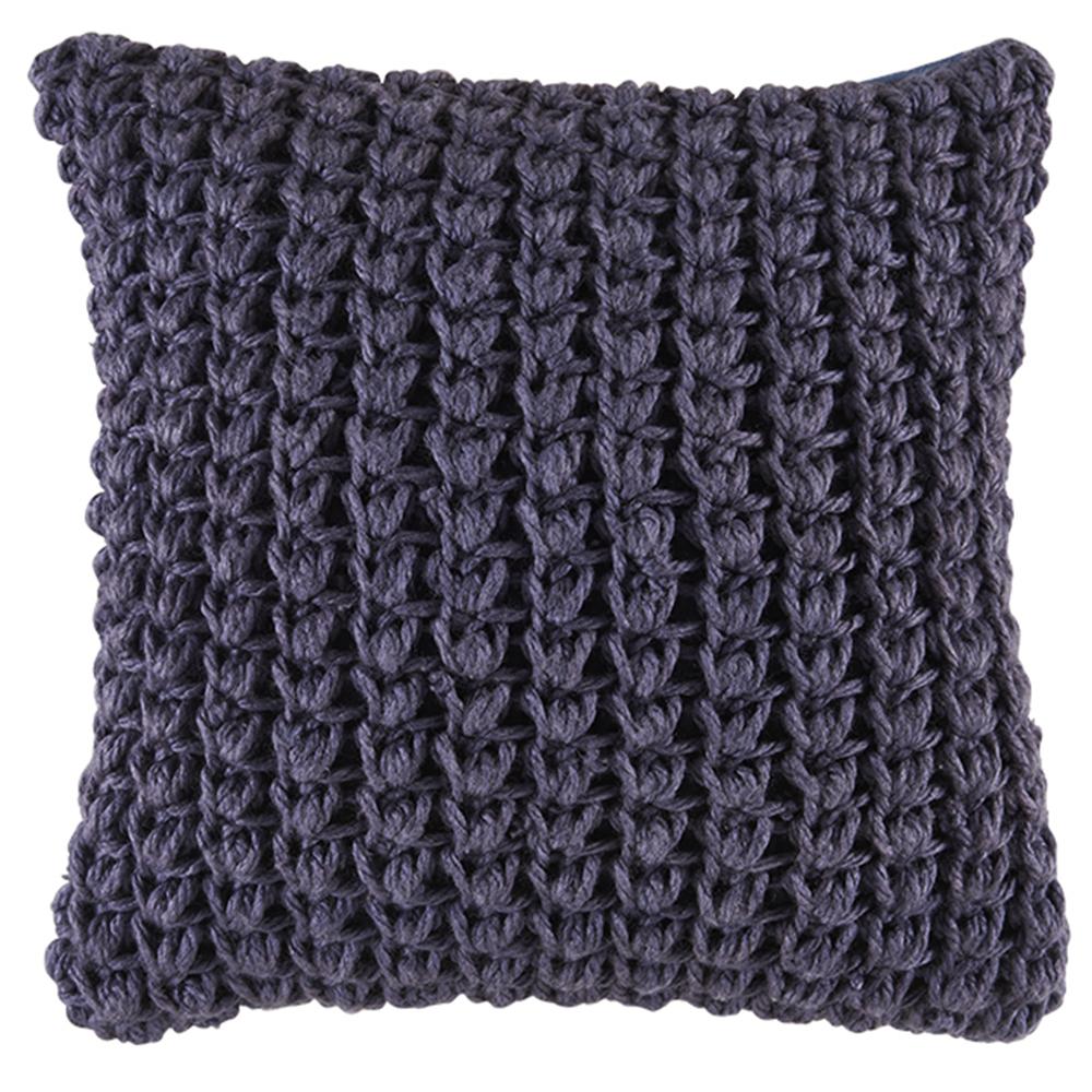 NEW-Chunky-Knit-Kelly-Square-Cushion-Kas-Cushions thumbnail 8