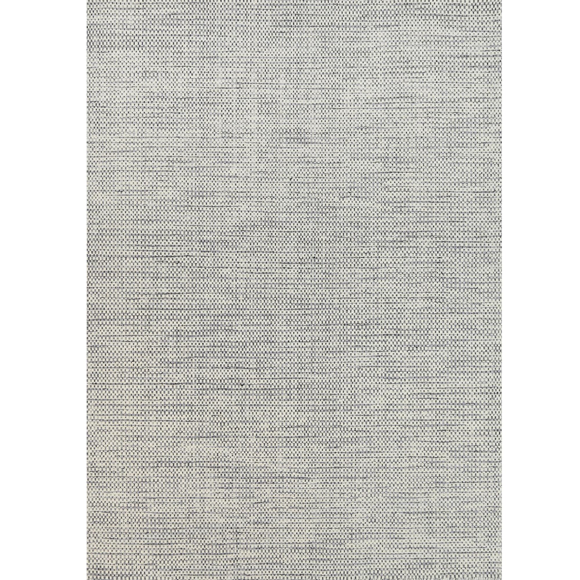 Grey Skandi Hand Woven Wool Rug