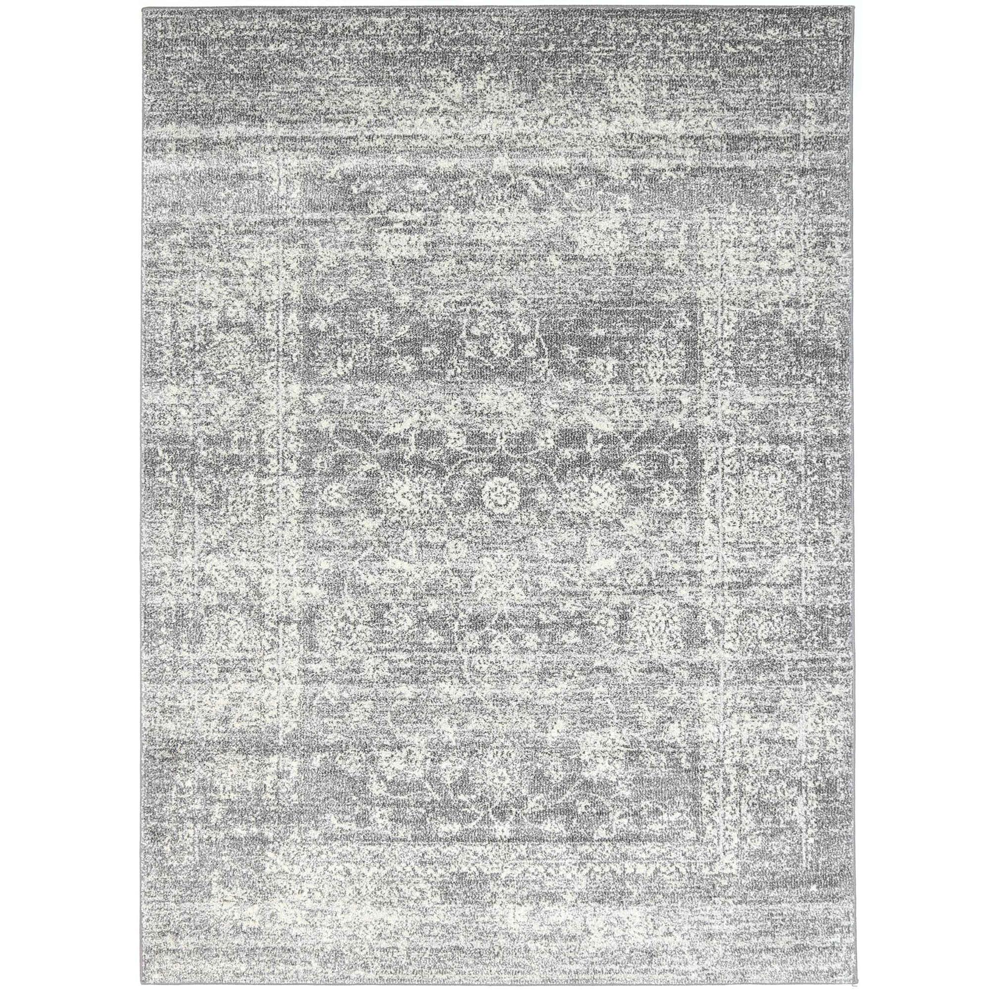 Grey Vintage Style Oriental Rug