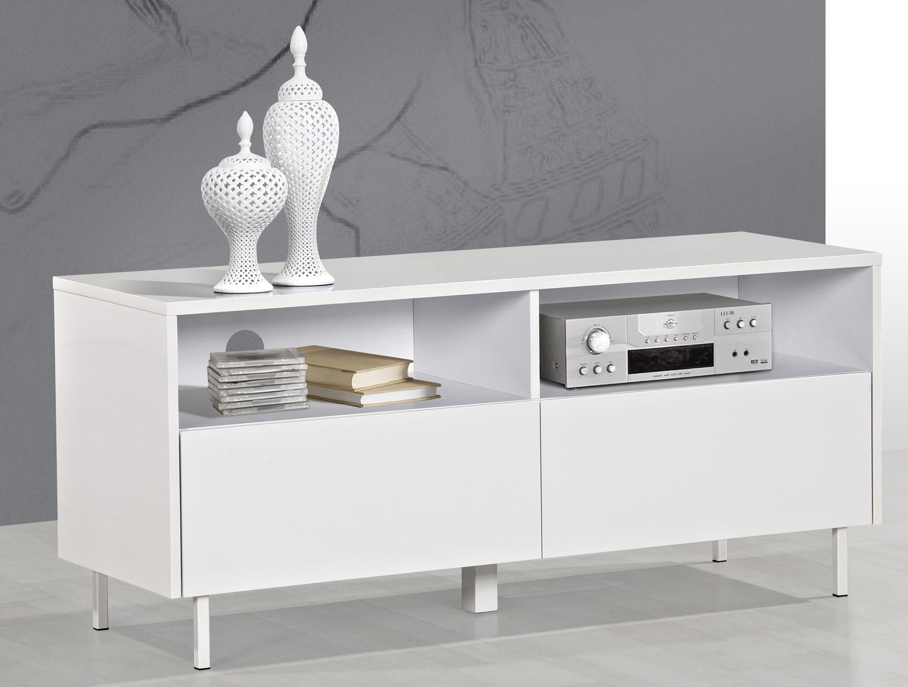 White Unit Cupboard Curio Cabinet Small Display Cabinets